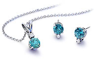 December Blue Topaz Birthstone