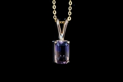 14Karat yellow gold Ametrine necklace. $275
