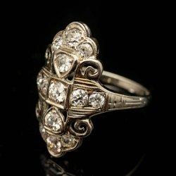 Ladies 14k White gold Diamond ring. Diamonds = Approx. 3/4cttw $1200