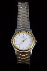 Ebel 18 Karat Yellow Gold with Stainless Steel $700