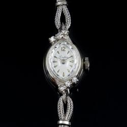 Croton 14 Karat White Gold Diamond Watch $400